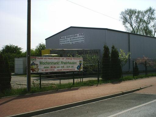 Die neue Halle der Rudolf Lisken & Sohn OHG - zum Vergrößern bitte klicken