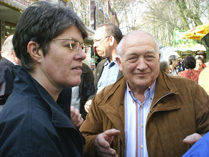 Claudia Leiße, Chefin der Grünen & Rudi Lisken