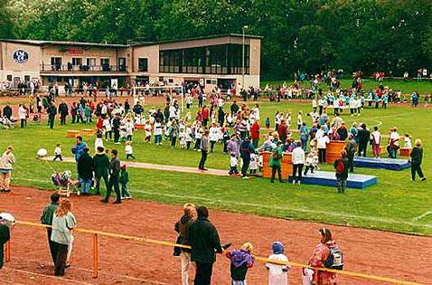 Das Volksparkstadion des OSC Rheinhausen